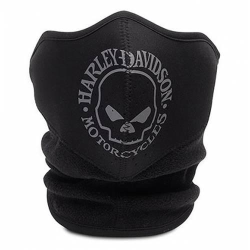 Protection faciale néoprène Skull Harley-Davidson