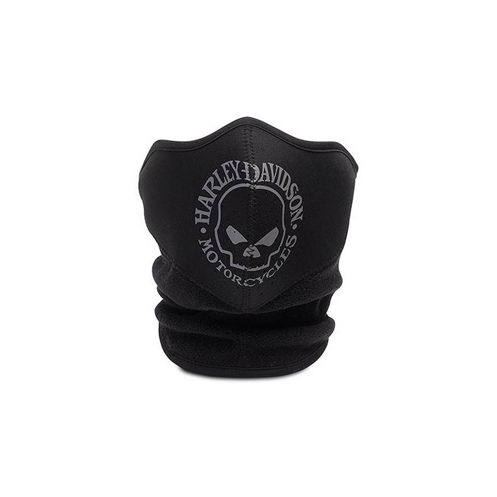 Protection faciale néoprène Skull, avec cache-col polaire, noir, Harley-Davidson 99406-16VM