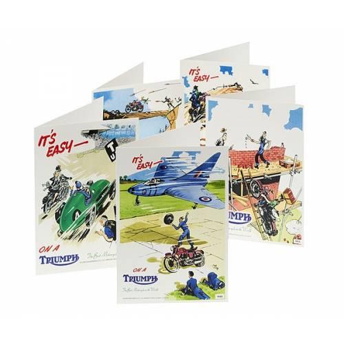 Cartes postales Vintage Triumph