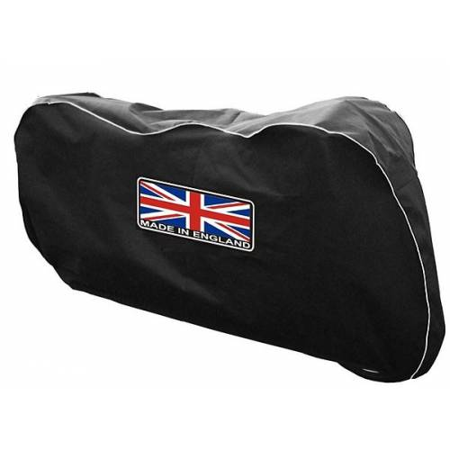 Housse de protection intérieur Street Triple et Speed Triple, polyester noir, Union Jack, British Legends DIV011-S