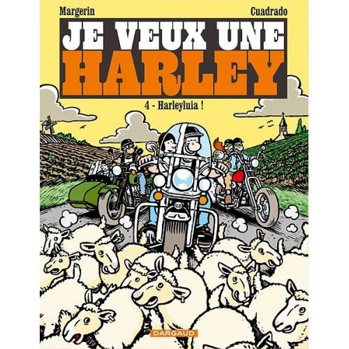 """BD """"Je veux une Harley"""" Tome 4"""