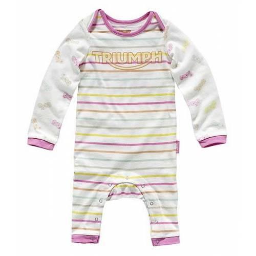 2 Pyjamas fille Triumph, coton, bébé fille, sans pied, manches longues, Triumph MJSA15038