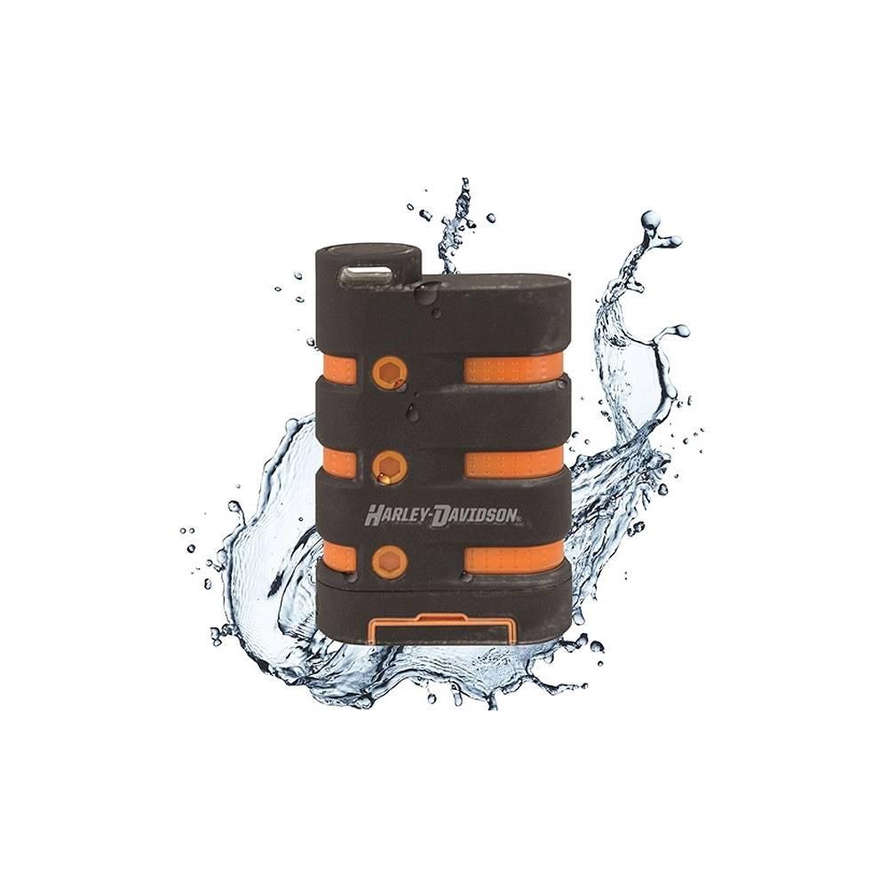 Batterie de secours H-D waterproof, anti choc, anti poussière, 6600mah, Harley-Davidson 7780