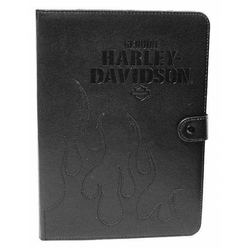 "Etui universel Tablette 7-8"" Flame, rotation 360°, angles élastiques, noir, Harley-Davidson 6908"