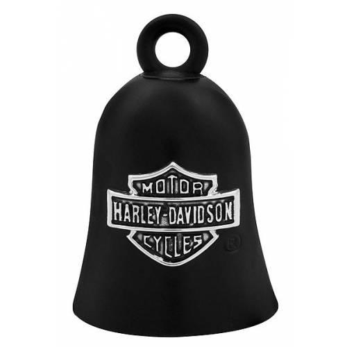 Clochette Bar & Shield métal et noir mat, Harley-Davidson HRB059