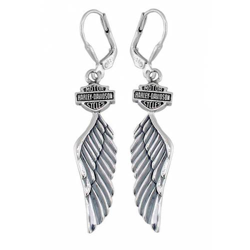 Boucles d'oreilles Wings Harley-Davidson