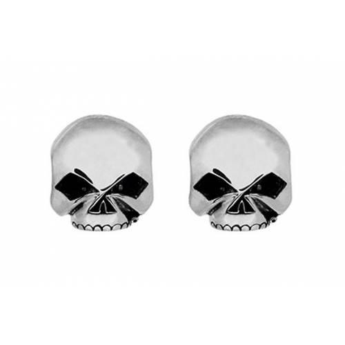 Boucles d'oreilles Skull Harley-Davidson