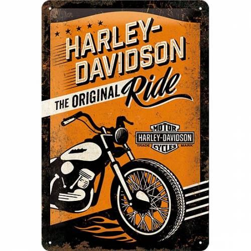 Plaque métal Original Ride Harley-Davidson