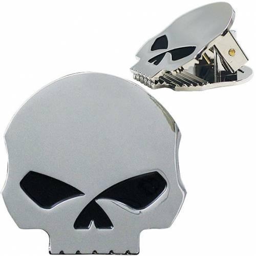Pince magnétique Skull Harley-Davidson