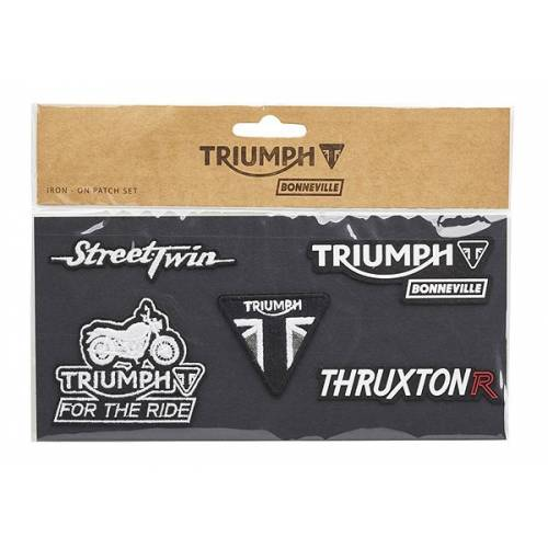 5 Patches Triumph Bonneville, Triumph MPAS16368