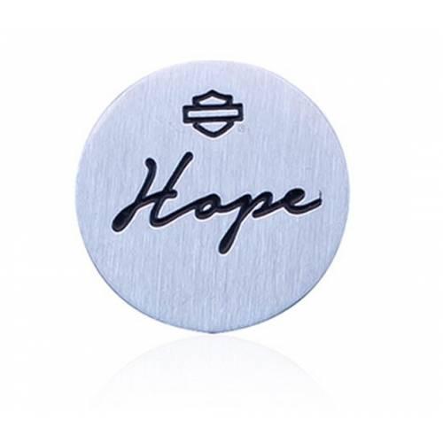 Petite plaque Hope pour collier et bracelet Harley-Davidson