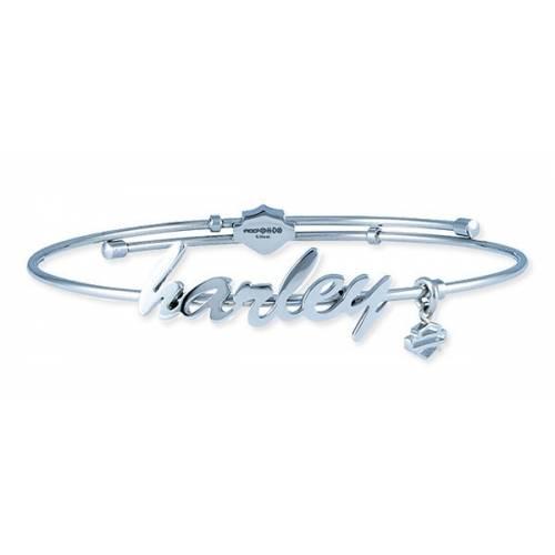 Bracelet acier Harley femme