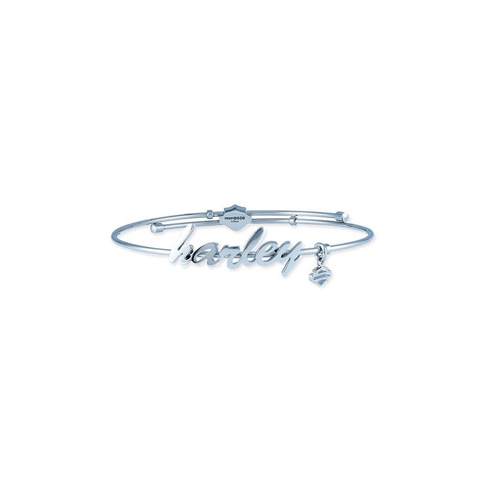 Bracelet acier Harley femme, acier, Harley-Davidson HSB0133