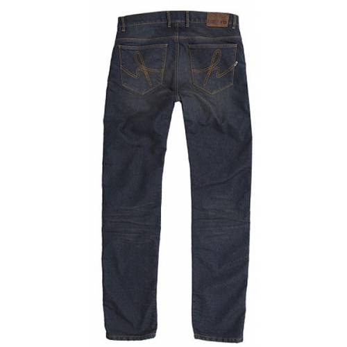 Jeans Corden Dirty homme, denim delavé, protections genoux, hanches, Helston's