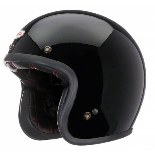 Casque Custom 500 Solid Black Bell
