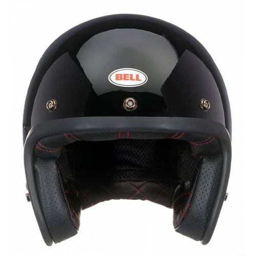 Casque Custom 500 Solid Black, mixte, noir brillant, BELL