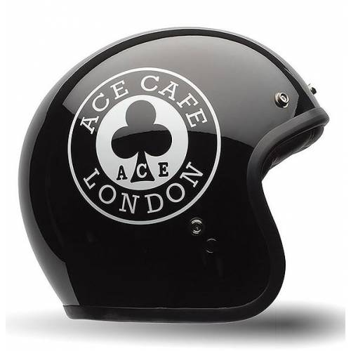 Casque Custom 500 SE Ace Cafe, mixte, noir brillant, BELL