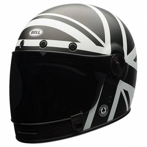 Casque Bullit Carbon Union Jack Bell