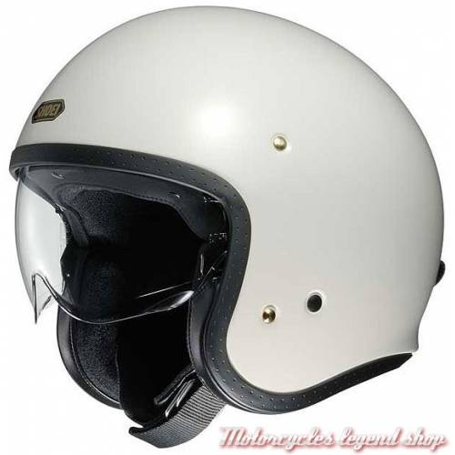 Casque J.O blanc Shoei