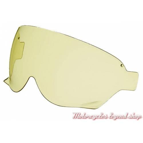 Visière haute définition jaune pour casque J.O, Shoei