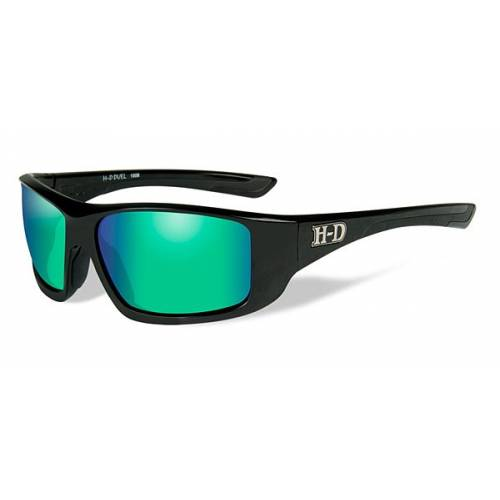 Lunettes solaire Duel vert Harley-Davidson