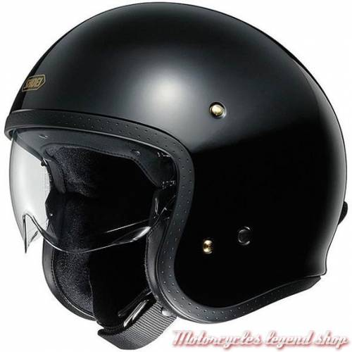 Casque J.O noir brillant Shoei