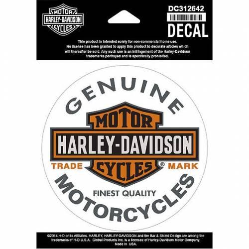 Sticker Bar & Shield Harley-Davidson