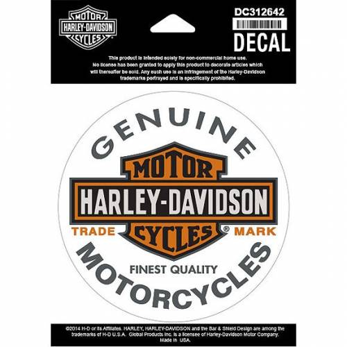 Sticker Bar & Shield, Harley-Davidson DC312642