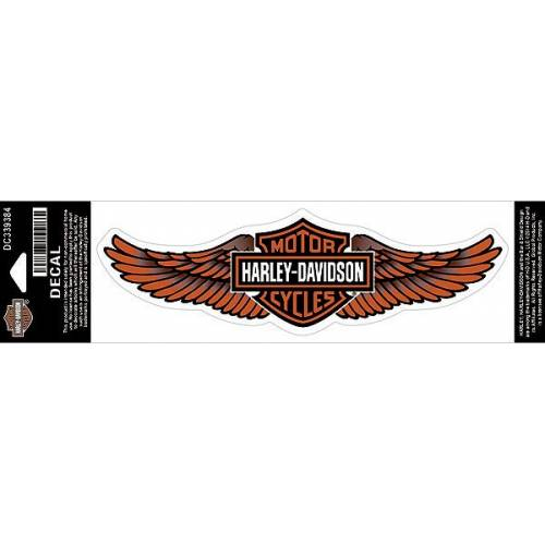 Sticker Straight Wings, modèle moyen, Harley-Davidson DC339384