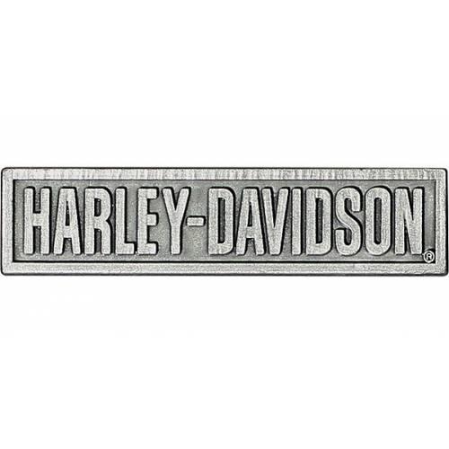 Pin's Harley-Davidson, argenté antique, Harley-Davidson P516204