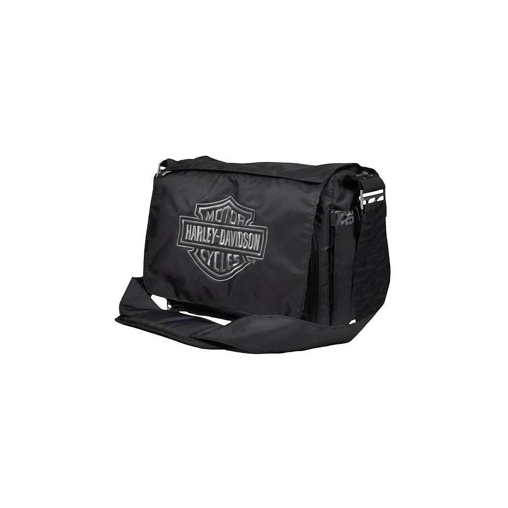 Sac à langer Baby Skull, noir, nylon, Harley-Davidson 0270306