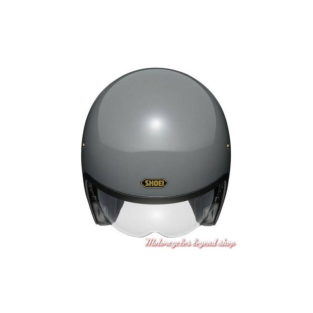 Casque J.O gris brillant mixte, vintage, Shoei