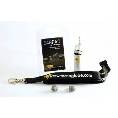 Earpad Tecno Globe, bouchon d'oreilles universel, ergonomique et anallergique