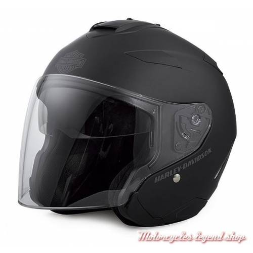 Casque Jet Grey Star Retro Harley Davidson Motorcycles