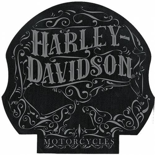 Tapis de souris Ornate Skull Harley-Davidson