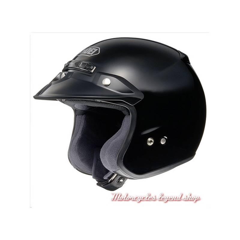 casque rj platinium noir brillant shoei motorcycles legend shop. Black Bedroom Furniture Sets. Home Design Ideas
