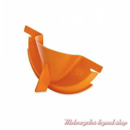 Entonnoir de remplissage huile de carter primaire Harley-Davidson, plastique orange, 63797-10