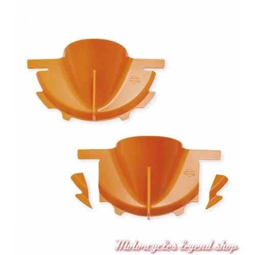 Entonnoir de remplissage huile de carter primaire Harley-Davidson, plastique orange, 62700015