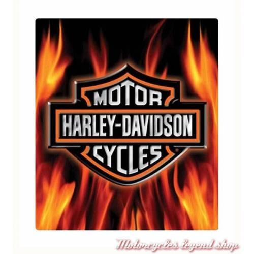 Plaque métal Flame Logo Harley-Davidson