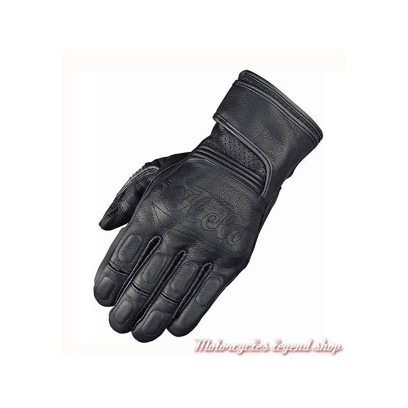 Gants cuir Bolt Held, noir, homologués, coqués, 2630