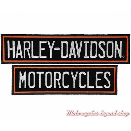 Patch Straight Rockers Harley-Davidson