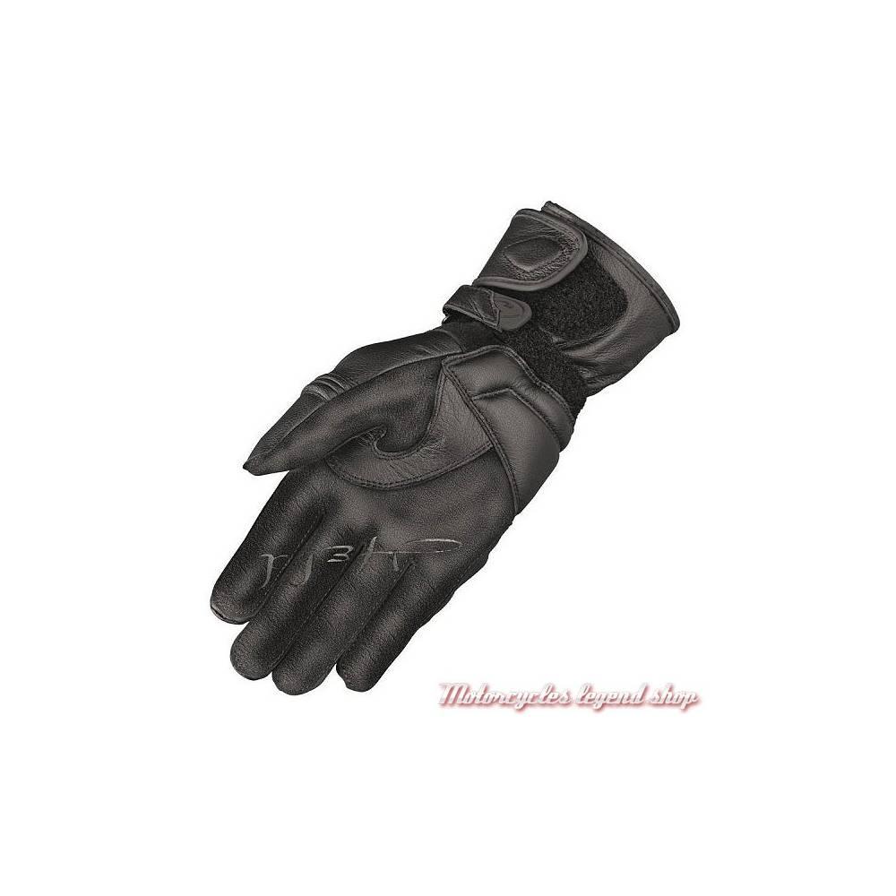 Gants cuir Sereena Held femme, noir, non doublés, homologué, 2624