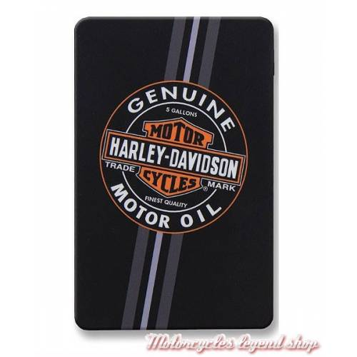 Batterie de secours Motor Oil, port USB, 3000 mAh, Harley-Davidson 7834