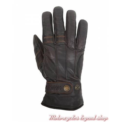 Gant cuir Brod hiver Helstons