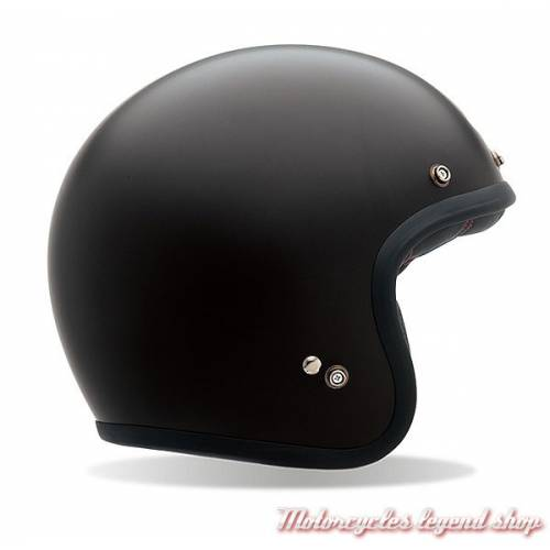 Casque Custom 500 Solid Matte Black Bell mixte, noir mat, BELL