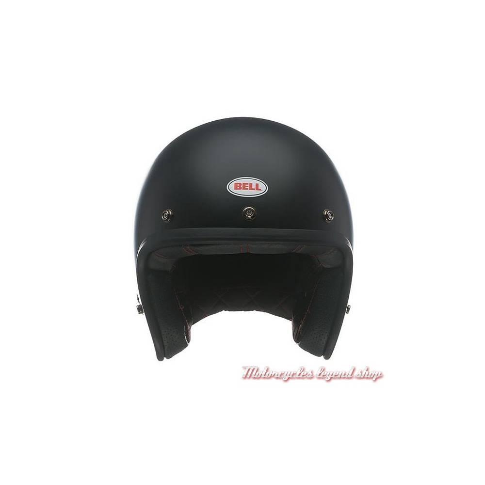 Casque Custom 500 Solid Matte Black Bell mixte, noir mat, BELL