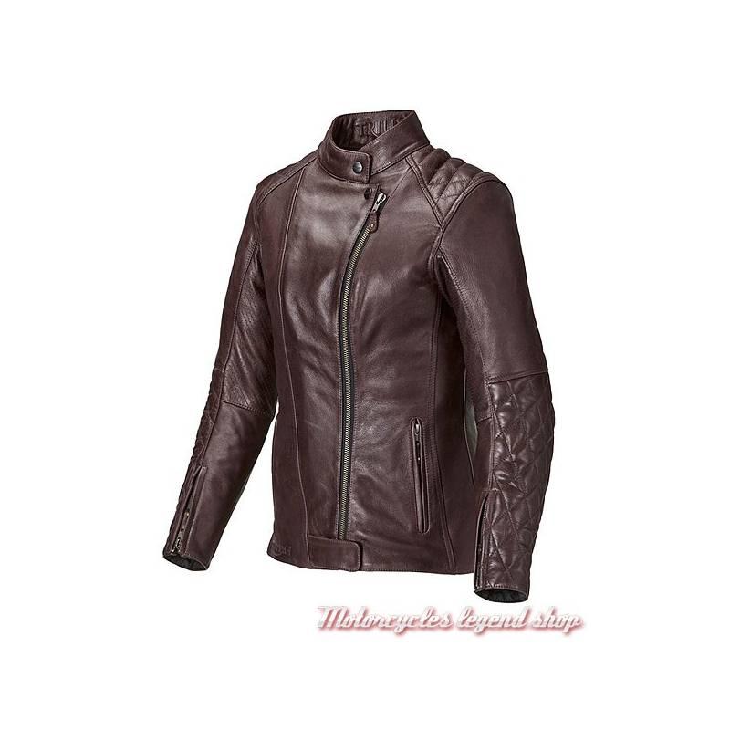 blouson cuir andorra triumph femme motorcycles legend shop. Black Bedroom Furniture Sets. Home Design Ideas