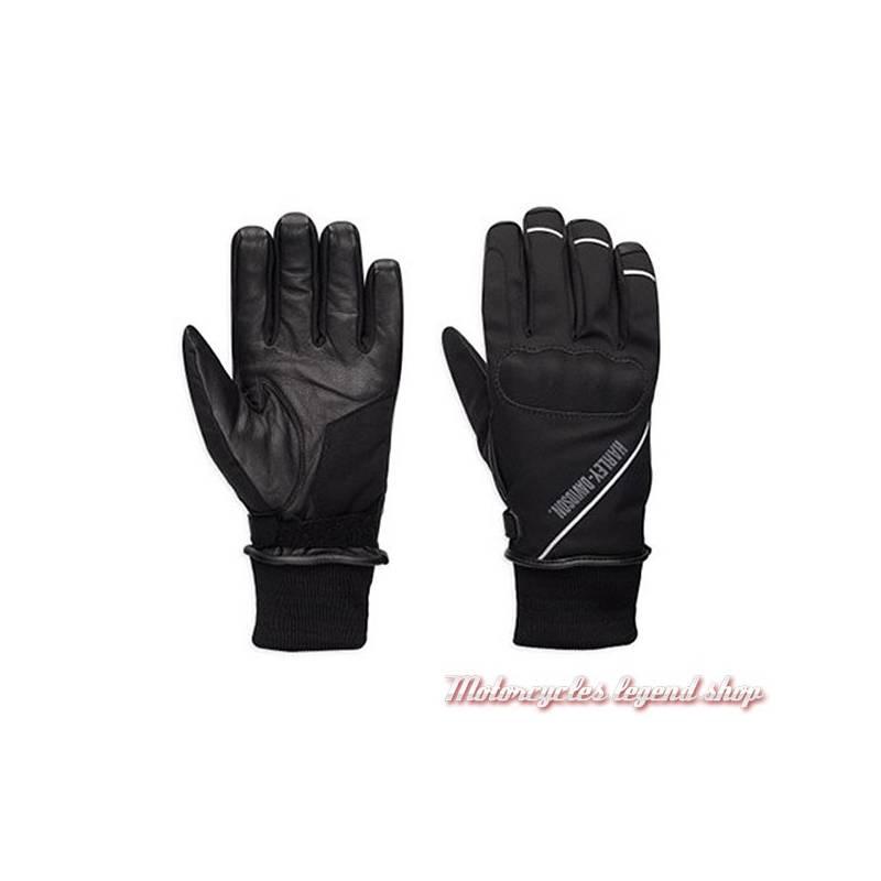 Gants textile Rally Harley-Davidson homme, homologués, noir , nylon, imperméable, 98365-17EM