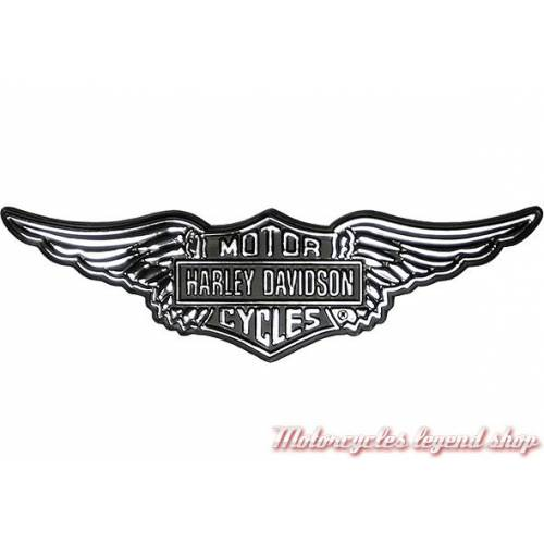 Sticker Revamped relief Harley-Davidson, plastique, chrome, DC966062