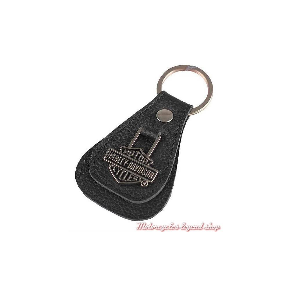 Porte Clés Cuir Bar Shield HarleyDavidson Motorcycles Legend Shop - Porte clef cuir
